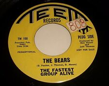 The Fastest Group Alive~The Bears / Beside~1966 Mod Rock~PROMO~FAST SHIPPING!