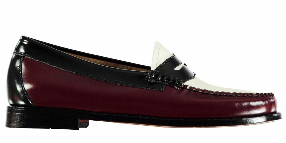 F8R0456 Leather Collection Femmes à Enfiler Nœud Bordure Ballerine Plate Chaussures Escarpins