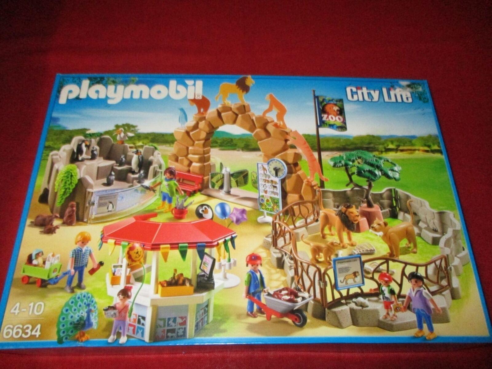 PLAYMOBIL® 6634 Mein großer Zoo NEU OVP OVP OVP ba6fba
