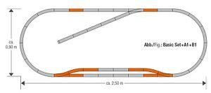 Roco-H0-61151-geoLine-Gleisset-B1-NEU-OVP