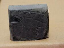 Vintage Printing Letterpress Printers Block Lead Treasure Chest