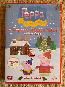 Peppa Pig Natale.Peppa Pig La Capanna Di Babbo Natale E Altre Storie Dvd Cartoni Nuovo Sigillato Ebay