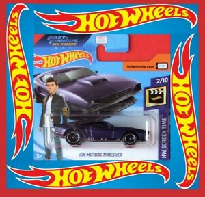 Hot-Wheels-2020-ion-motors-Thresher-Fast-amp-Furious-133-250-neu-amp-ovp