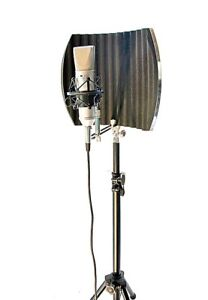 post audio arf 12 reflection filter portable vocal booth great for vo ebay. Black Bedroom Furniture Sets. Home Design Ideas