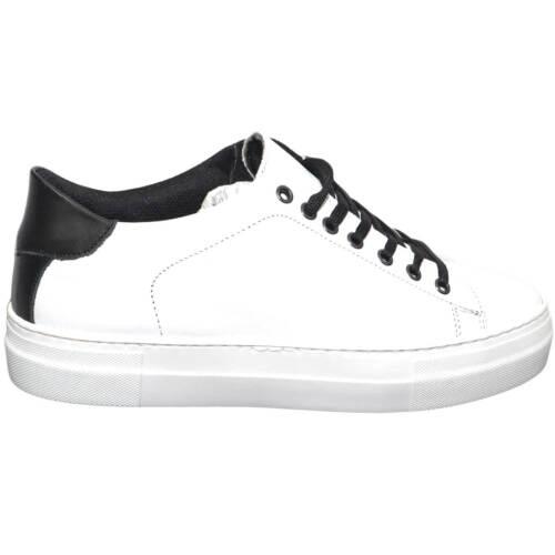 Sneaker Bicolore Nero Scarpe Italy E Comfort Uomo Moda Bianco Spor In Made Bassa AqH1Zw