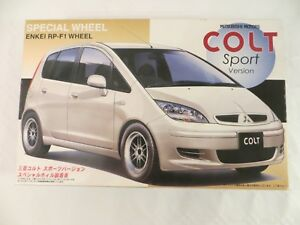 FUJIMI 1/24 Mitsubishi Colt Sport Version Special Wheel ENKEI RP-F1 MODEL KIT