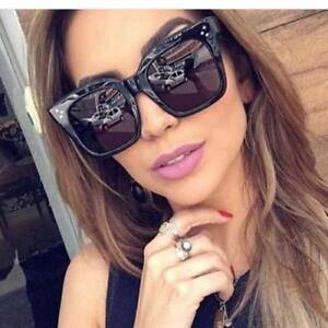 cd1ef1e2d2 2018 Fashion Sunglasses Black Fashion Top S Women Square Aviator ...