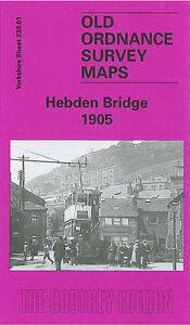 OLD-ORDNANCE-SURVEY-MAP-HEBDEN-BRIDGE-1905-HEPTONSTALL-CHISLEY-LITTLE-MOOR