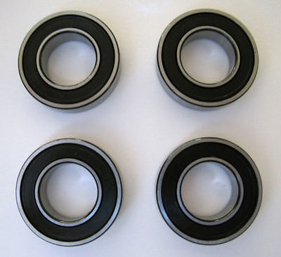 3x 1x 6902-2rs 6802-2RS HYBRID CERAMIC BALL BEARINGS 4 QTY.