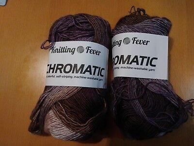 Knitting Fever Chromatic Yarn Purple Hues Ebay