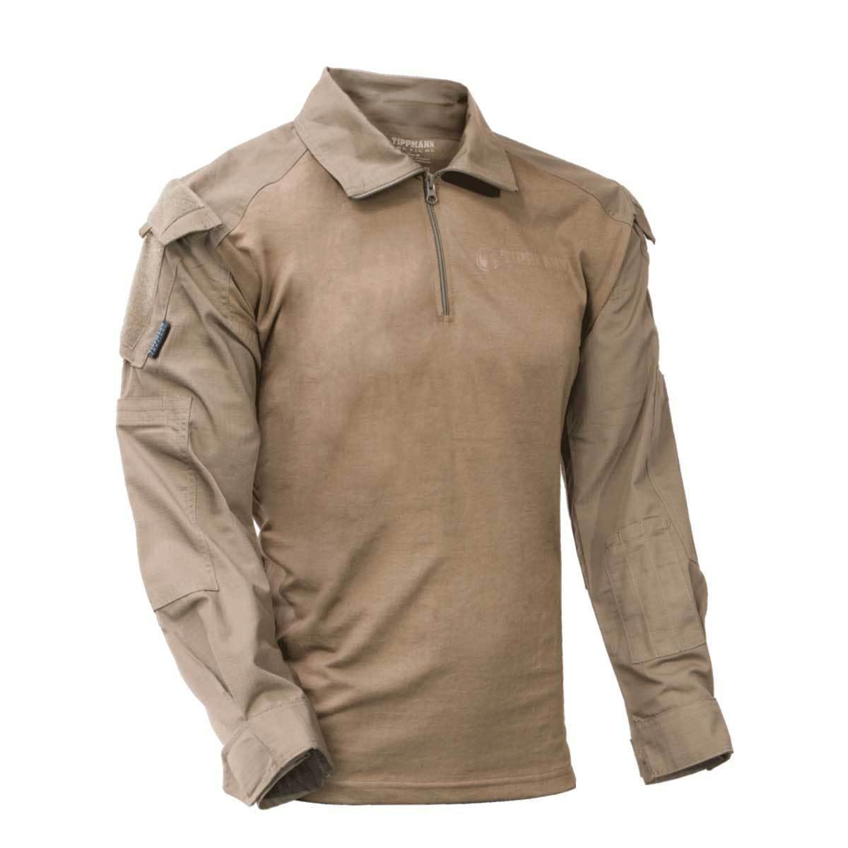 Tippmann Tactical TDU Shirt - Tan - - - Medium 87937e