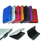 Wallet ID Business Credit Card Holder Anti RFID Scanning Aluminum Purse Case Box