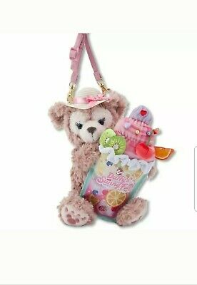 Disney Sea Limited Sherry Mae Stuffed Toy Face Pouch Coin Case From Japan