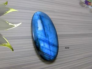 Labradorite AAA++ Blue Cabochon Oval Shape 44X21X7 Use For All Type Jewellery Labradorite Gemstone Best Quality