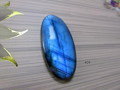 1 Pcs LC832 Blue Flashy Labradorite Designer Carved Cabochon Nice Carving jewelry Making Natural Labradorite Gemstone Oval 39x18x5 mm