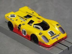 Details about HO Slot Car Parts - HCS Porsche 917K Clear  010 Lexan Body  Lot of 2 w/ MASK Kits