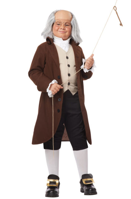 Child Costume Founding Father