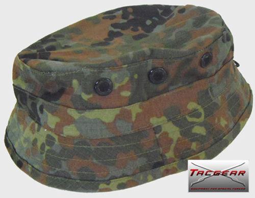 TacGear BW Bundeswehr Flecktarn RECCE Boonie Crash cap Mütze Hat German Army