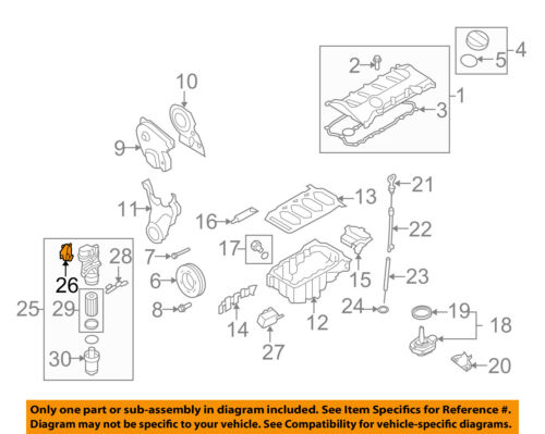 AUDI OEM 05-08 A4 Quattro Engine Parts-Adapter Gasket 06F115441A