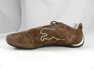 b8357e996fb Nice Used PUMA Speed Cat Chocolate Suede Driving Shoes Women s 9 ...