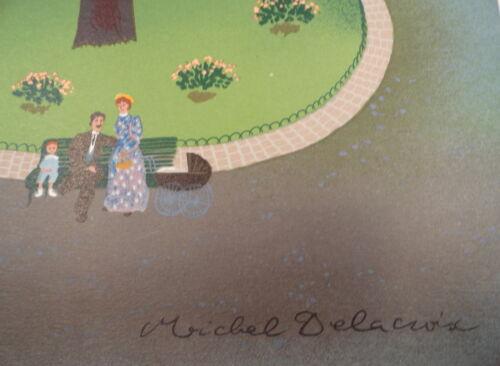 Delacroix Le Kiosque Limited Edition Lithograph Art M