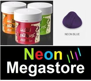 2 X Neon Blau La Riche Directions Haar Farbstoff Semi Permanente