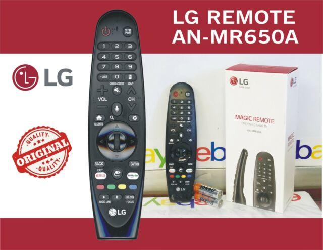 Original LG (AN-MR650A) Magic Remote Control w/ Voice Mate™ for 2017 Smart Tvs