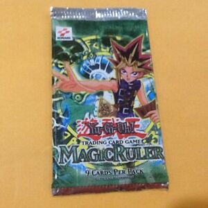 Yu-Gi-Oh-Magic-Ruler-1-Booster-Pack-BRAND-NEW-FACTORY-SEALED