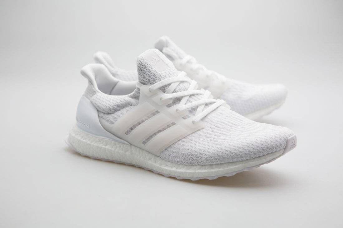 Adidas Men Ultra Boost white footwear white crystal white BA8841