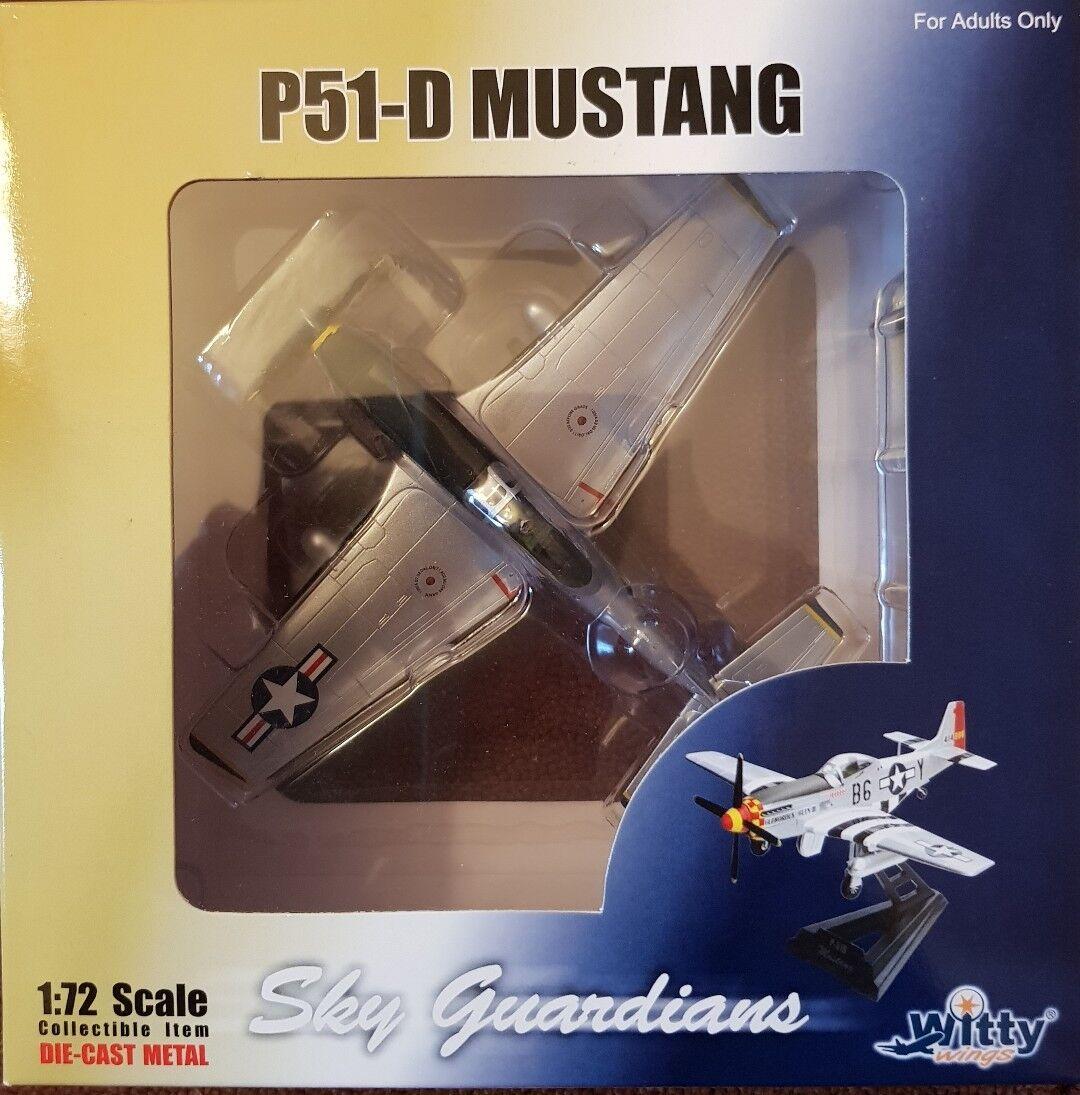 Witty Wings Sky Guardians P51-D Mustang WTW-72-004-002 Birds of Prey 1 72 NEW
