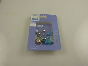 Body-Jewelry-belly-button-naval-ring-piercing-body-navel-crystal-teal-multi-5