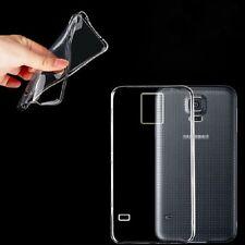 Ultra Delgado Transparente TPU Gel piel funda para Samsung Galaxy S5 Neo & Pantalla Prot
