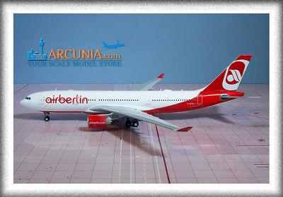 """Gemini200 - Jc Wings 1:200 Air Berlin Airbus A330-200 """"d-alpa"""" Xx2198"""