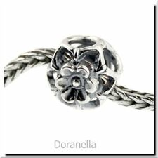 Authentic Trollbeads Sterling Silver 11339 Zucchini Flower :1