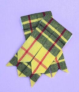 Men-s-Scottish-Kilt-Sock-Flashes-Macleod-Of-Lewis-Tartan-kilt-Hose-Flashes
