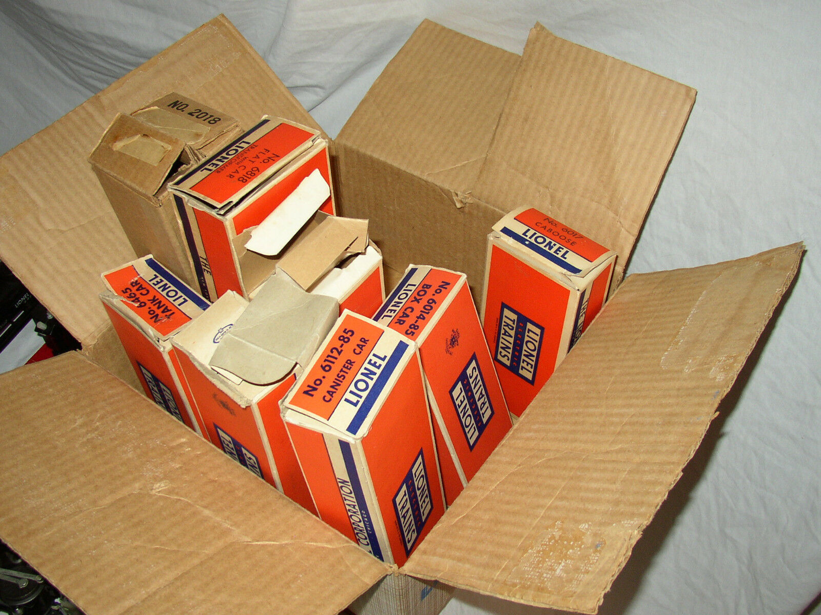 LIONEL 1597S SET IN ORIGINAL BOX NICE NICE NICE    LOT  HW-21 1fd573
