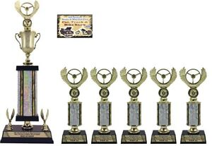 FIRST TIME CAR SHOW AWARD SMALL TROPHY PACKAGE A TOP CAR SHOW - Car show trophy packages