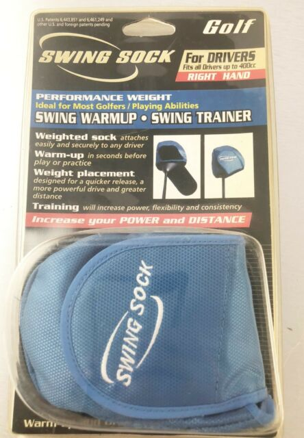 Swing Sock Golf Warmup Drill Trainer For Rh Drivers Up To 400cc