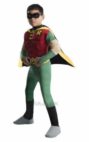 Kids T TITANI Deluxe Muscle Torace Costume Robin