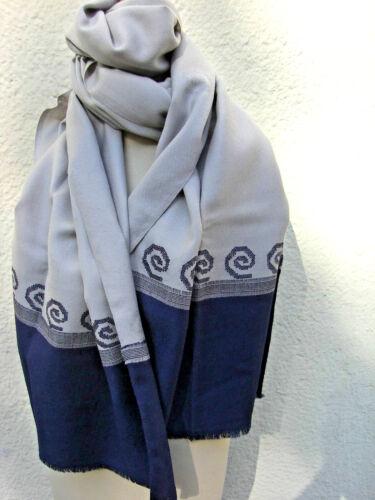 Hand gewebt neu Wollschal Wolltuch Wollstola Damenschal Wolle Kullu Design v