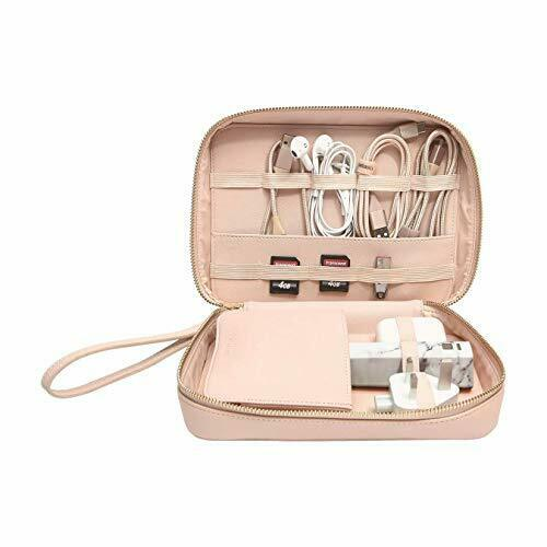 Stackers Blush Pink Cable Tidy Bag