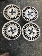 Vw Mk1mk2 Jetta Oem 13x55 Alloy Wheel 321 601 025g Set Of 4
