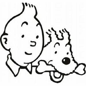 Sticker-deco-autocollant-vinyle-adhesif-Tintin-et-Milou