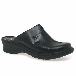 Black 'Cerys' Womens Leather Clogs amazing price cheap price get authentic for sale Ck5SKt