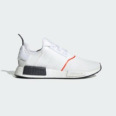 Adidas Originals Nmd R1 Boost Running Shoes Men S Size 10 Cloud White Ee5086 Ebay