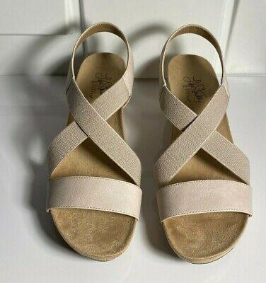 LifeStride Womens Hazy Wedge Sandal