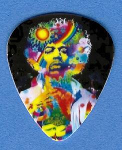 Jimi Hendrix Guitar Picks : psychedelic jimi hendrix guitar picks set of 4 ebay ~ Russianpoet.info Haus und Dekorationen