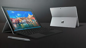 New-Microsoft-Surface-Pro-4-128GB-Wi-Fi-12-3in-Silver-Intel-Core-i5-4-GB-RAM