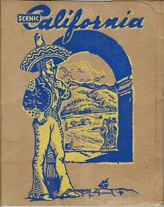"""1889  """"Scenic California"""" 16 Color photo  by Southern Pacific RR"""