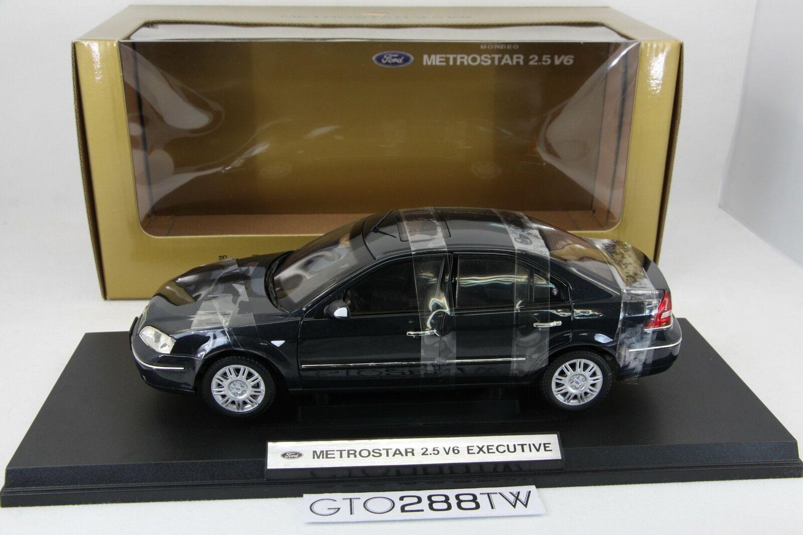 Distributore di Taiwan 1 18 Ford Metroestrella(Mondeo Mk.3) 2.5 V6 2003(nero) -di Paudi